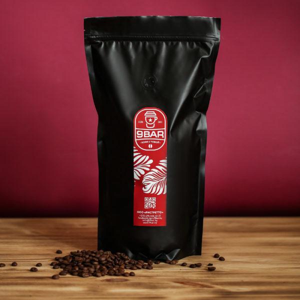 Свежеобжаренный кофе 9BAR Exclusive в Минске