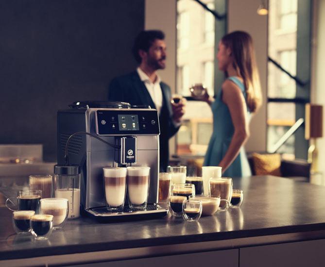Кофемашина в офисе